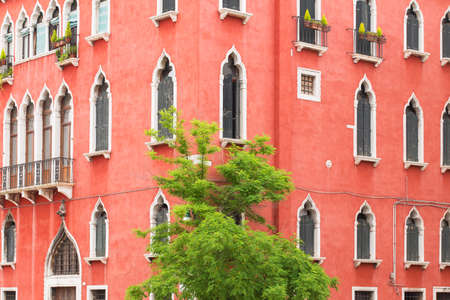 old  buildings: Old buildings facade Stock Photo
