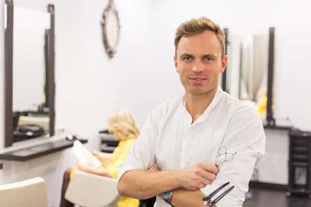 coiffeur: Coiffeur Banque d'images