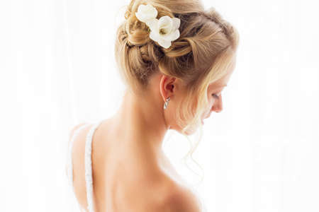 hair style: Brides hair style for wedding ceremony