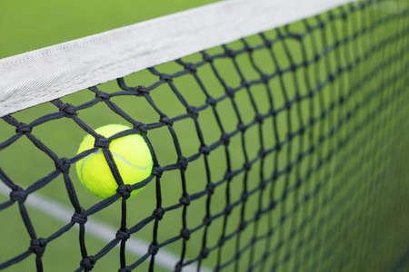 failed strategy: Tennis ball in the net