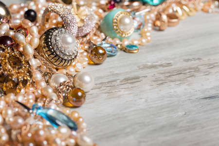 rubin: Female jewelry sitting on table