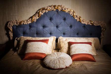 luxury bedroom: Interior of luxury bedroom