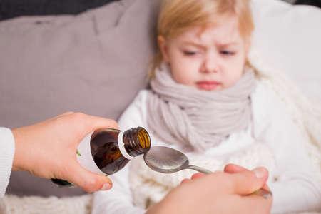 子供服用する薬