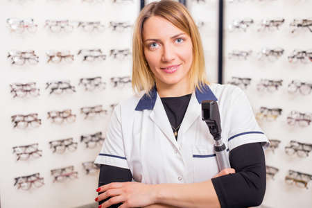 optometry: Sales assistant in Optometry shop