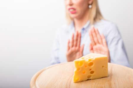 Käse-Allergien Lizenzfreie Bilder