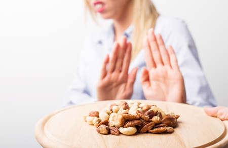 botanas: alergias a las nueces