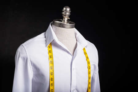 Shirt et bande meassurement Banque d'images