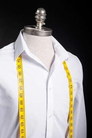 tailored: Maneken with white shirt on it