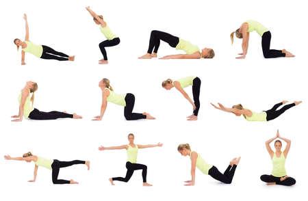 Verschillende oefeningen voor training
