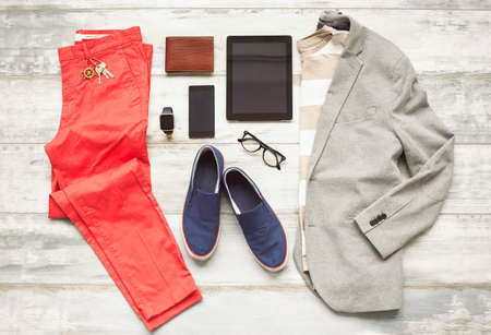 Modern set of outfit
