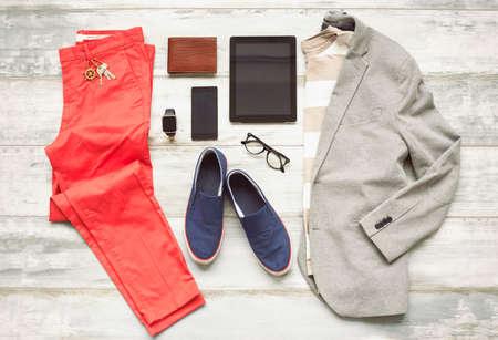 Moderne set outfit Stockfoto
