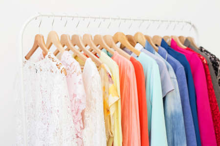 Clothes in the closet
