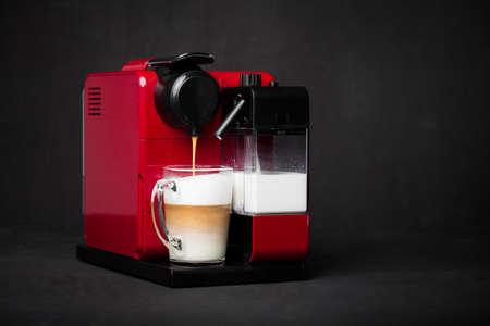 machine: Coffee machine Stock Photo