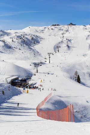 ski slopes: Ski slopes