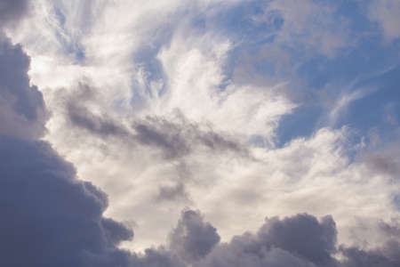 beautiful sky: Beautiful cloudy sky