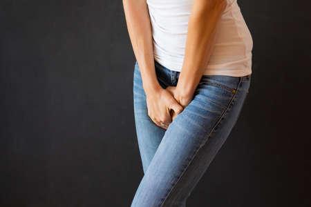 Woman needs to pee