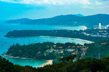 Phuket Sea View Stock Photo