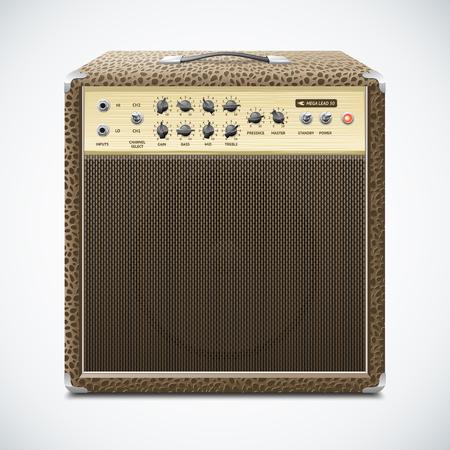 Guitar Amplifier Illustration Illustration
