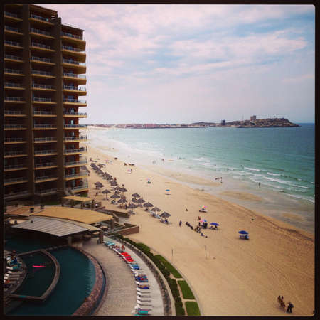 Sandy Beach in Puerto Penasco Mx