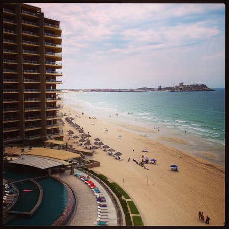 mx: Sandy Beach in Puerto Penasco Mx