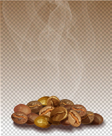 Coffee on a transparent background