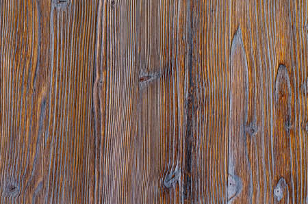Brown wooden background. Grunge texture. Top view. Close up.