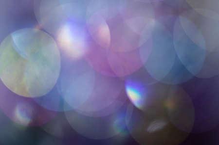 Fond de lumières abstraites floues de la lampe à paillettes brillantes. Faits saillants flous abstraits.