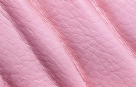 Natural pink leather texture. Close up. Useful as background for design-works. 免版税图像 - 139602370