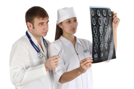 doctor studies picture Stock Photo - 2645534