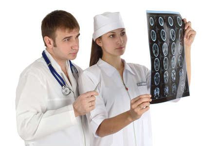 doctor studies picture Stock Photo - 2645534