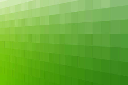 abstract green background from squares  photo