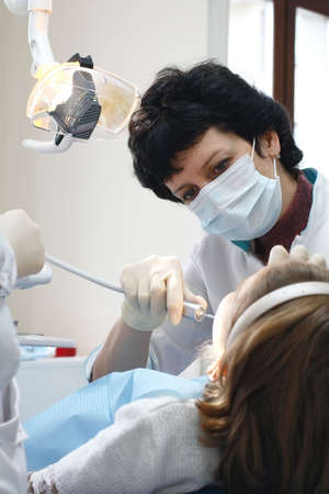 visit to dentist photo