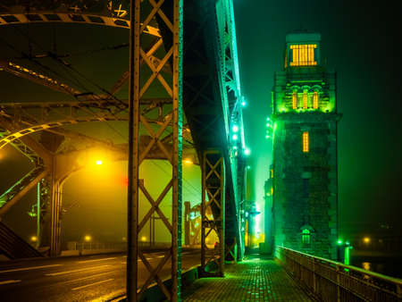 Petersburg. Fog. Bridges of St. Petersburg. Russia. The Bridge of Peter the Great. Streets of Petersburg. Neva River. Architecture of Petersburg.