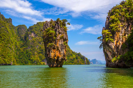 Bond Island in Thailand. Island in Phang Nga Bay, Thailand Zdjęcie Seryjne