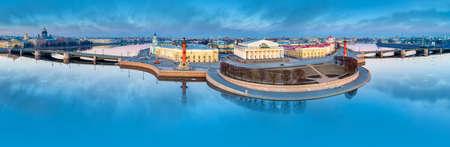 Saint Petersburg. Vasilyevsky Island. Russia Panorama of the center of St. Petersburg. Bridges of St. Petersburg. Architecture cities of Russia. Palace Bridge. Spit of Vasilyevsky Island.