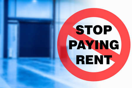 A call to stop paying rent. Rental holidays due to quarantine. Inability to pay rent. Lack of funds to pay for premises.
