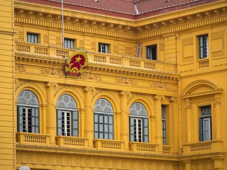 indochina: Presidential Palace in Hanoi, Vietnam, built between 1900 and 1906 to house the French Governor-General of Indochina.