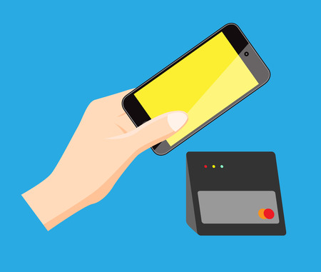 pay: mobile pay Illustration