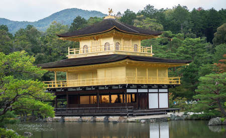 rokuonji: Public golden temple, Japan