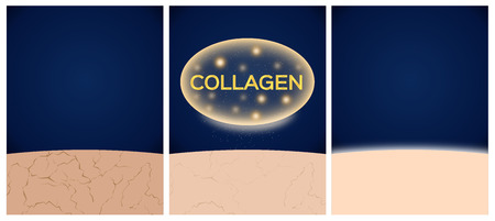 collagen and skin before and after