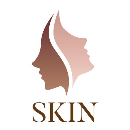 skin vector dark skin turn to bright skin
