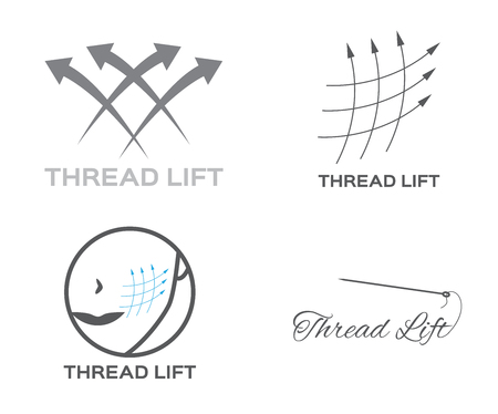 surgical needle: thread lifting