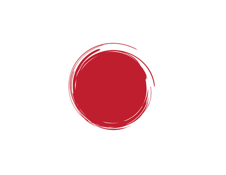 frag: japan brush frag , japan vector Illustration