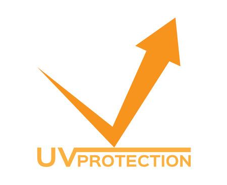 sun block: uv protection icon