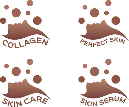 collagen: collagen skin serum icon