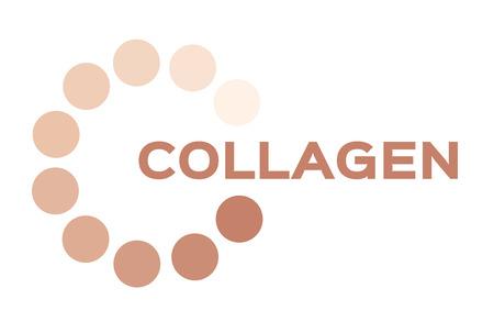 steroid: collagen icon Illustration