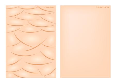 Collagen Serum Aloe Vera And Vitamin Background Concept Skin ...