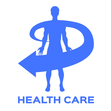 general insurance: health care icon and vector Illustration