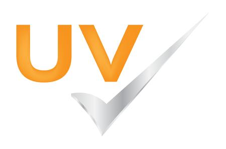 uv protection vector icon