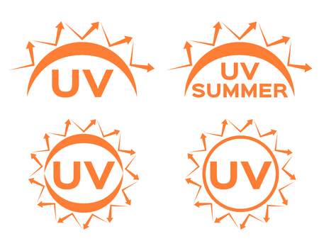 reflect: uv protection vector icon for summer